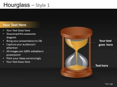 Hourglass Time Concept PowerPoint Diagrams