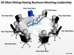 How To Draw Business Process Diagram Free Download Meeting Leadership PowerPoint Templates