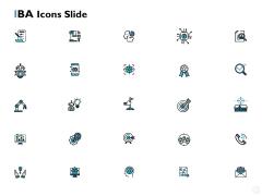 IBA Icons Slide Winner Target Ppt PowerPoint Presentation Infographics Background Designs