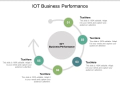 IOT Business Performance Ppt PowerPoint Presentation Visual Aids Professional Cpb
