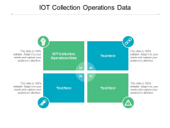 IOT Collection Operations Data Ppt PowerPoint Presentation Gallery Vector Cpb