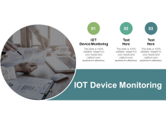 IOT Device Monitoring Ppt PowerPoint Presentation Ideas Background Images Cpb