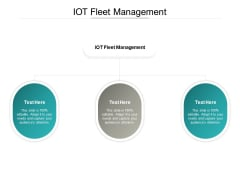 IOT Fleet Management Ppt PowerPoint Presentation Gallery Brochure Cpb Pdf