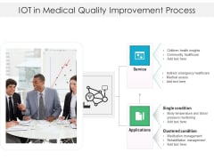 IOT In Medical Quality Improvement Process Ppt PowerPoint Presentation File Graphic Images PDF