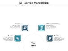 IOT Service Monetization Ppt PowerPoint Presentation Ideas Deck Cpb Pdf