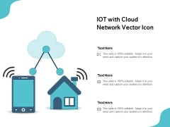 IOT With Cloud Network Vector Icon Ppt PowerPoint Presentation File Microsoft PDF