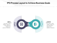 IPO Process Layout To Achieve Business Goals Ppt PowerPoint Presentation File Master Slide PDF
