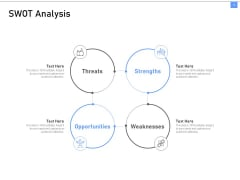 ITIL Framework And Processes SWOT Analysis Ppt Infographic Template Shapes PDF