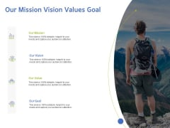 ITIL Knowledge Management Our Mission Vision Values Goal Ppt Show Clipart PDF
