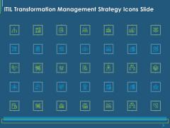 ITIL Transformation Management Strategy ITIL Transformation Management Strategy Icons Slide Ppt Slides Themes PDF