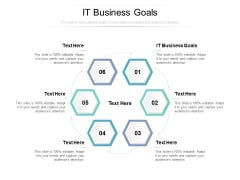 IT Business Goals Ppt PowerPoint Presentation Icon Mockup Cpb