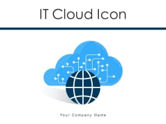 IT Cloud Icon Management Knowledge Ppt PowerPoint Presentation Complete Deck