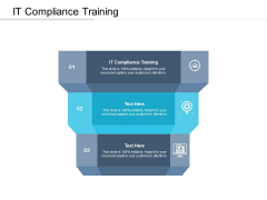 IT Compliance Training Ppt PowerPoint Presentation Outline Slides Cpb