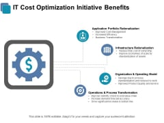IT Cost Optimization Initiative Benefits Ppt PowerPoint Presentation Infographic Template Graphics
