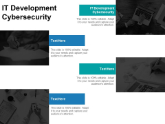 IT Development Cybersecurity Ppt PowerPoint Presentation Icon Slides Cpb