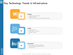 IT Infrastructure Governance Key Technology Trends In Infrastructure Ppt Infographic Template Sample PDF