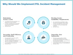 IT Infrastructure Library Incident Handling Procedure Why Should We Implement ITIL Incident Management Microsoft PDF
