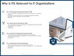 IT Infrastructure Library Service Quality Administration Why Is ITIL Relevant To IT Organizations Pictures PDF