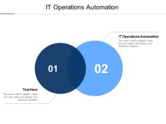 IT Operations Automation Ppt PowerPoint Presentation Layouts Portrait Cpb