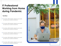 IT Professional Working From Home During Pandemic Ppt PowerPoint Presentation Slides Objects PDF