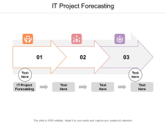 IT Project Forecasting Ppt PowerPoint Presentation Professional Show Cpb