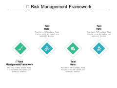 IT Risk Management Framework Ppt PowerPoint Presentation Model Deck Cpb