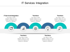 IT Services Integration Ppt PowerPoint Presentation Gallery Slides Cpb