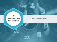 IT Simplification Assessment Ppt PowerPoint Presentation Complete Deck With Slides