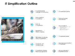 IT Simplification Outline Ppt PowerPoint Presentation Infographic Template Templates