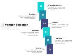 IT Vendor Selection Ppt PowerPoint Presentation Summary Graphics Cpb Pdf