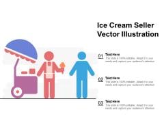 Ice Cream Seller Vector Illustration Ppt PowerPoint Presentation Summary Slides PDF