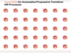 Icons Slide For Automation Proposal To Transform HR Processes Ppt PowerPoint Presentation Professional Themes PDF