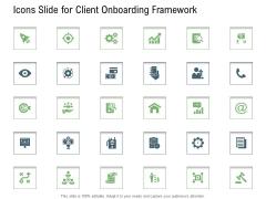 Icons Slide For Client Onboarding Framework Ppt Show Slideshow PDF