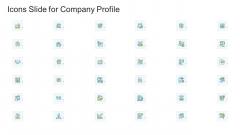 Icons Slide For Company Profile Company Profile Ppt Professional Grid PDF