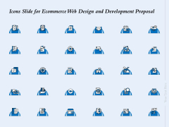 Icons Slide For Ecommerce Web Design And Development Proposal Ppt Gallery Inspiration PDF