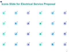 Icons Slide For Electrical Service Proposal Ppt PowerPoint Presentation Summary Portrait