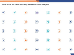 Icons Slide For Email Security Market Research Report Ppt Professional Examples PDF