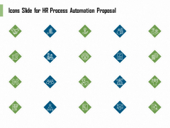 Icons Slide For HR Process Automation Proposal Themes PDF