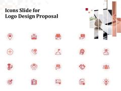 Icons Slide For Logo Design Proposal Ppt Slides Background Image PDF