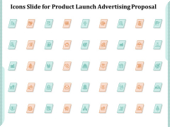 Icons Slide For Product Launch Advertising Proposal Ppt PowerPoint Presentation Summary PDF