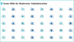 Icons Slide For Rainwater Administration Themes PDF