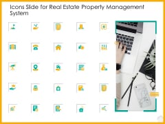 Icons Slide For Real Estate Property Management System Ppt Show Visual Aids PDF