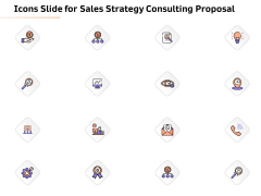 Icons Slide For Sales Strategy Consulting Proposal Diagrams PDF