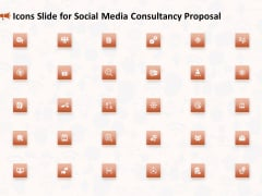 Icons Slide For Social Media Consultancy Proposal Topics PDF