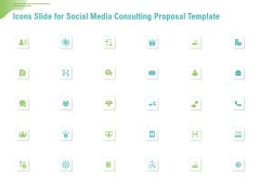 Icons Slide For Social Media Consulting Proposal Template Ppt Styles Ideas PDF