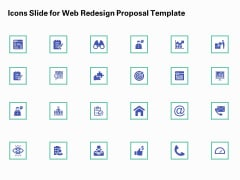Icons Slide For Web Redesign Proposal Template Ppt Styles Skills PDF