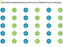 Icons Slide Implementing Human Resources HR Best Practices Strategy Ppt Styles Infographic Template PDF