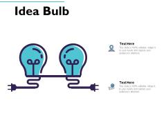 Idea Bulb Innovation Management Ppt PowerPoint Presentation Gallery