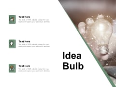 Idea Bulb Innovation Management Ppt PowerPoint Presentation Summary Outline