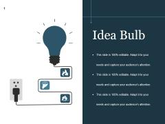 Idea Bulb Ppt PowerPoint Presentation Designs
